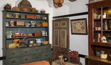 Historic Blue Staffordshire